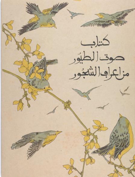 birdbook#1 cover page
