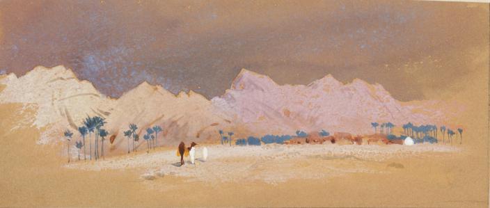 El Oued desert  1895