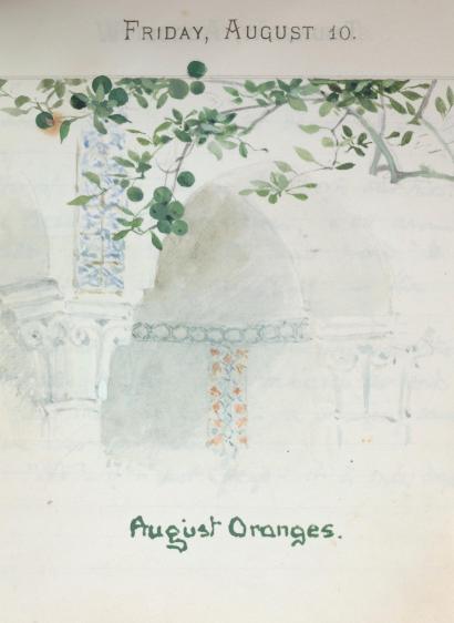 august oranges