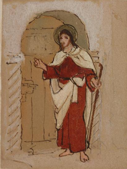 Jesus at Door